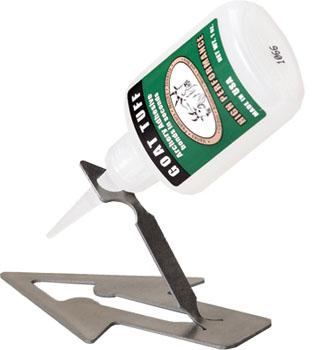 goat tuff glue stand