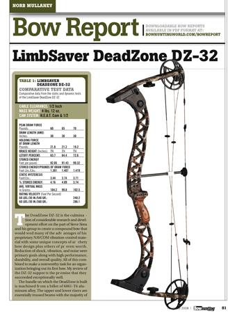 Limbsaver Deadzone DZ-32
