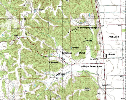topo map hunting