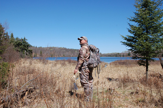 boundary waters bow hunting
