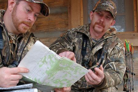 topo map scouting