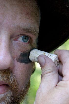 cork face paint