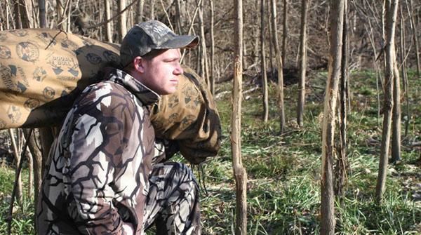 public land hunting blind