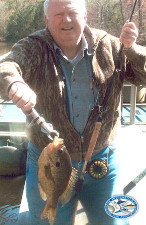 redear sunfish world record