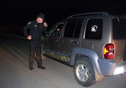 nighttime hunting
