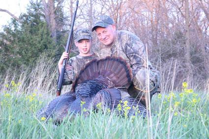 turkey hunting kids