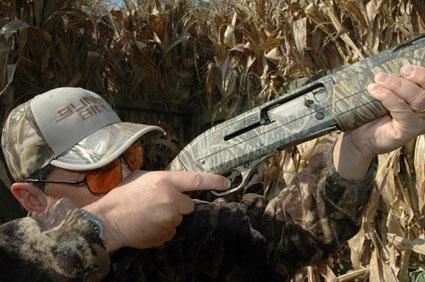 duck hunting shotgun