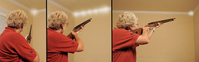 shotgun shooting drill