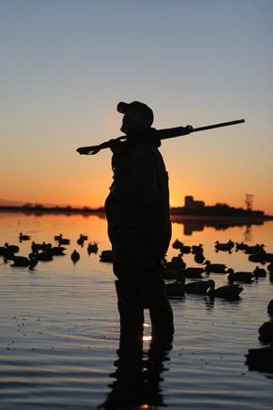 waterfowl hunting refuge