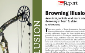 Bow Report: Browning Illusion