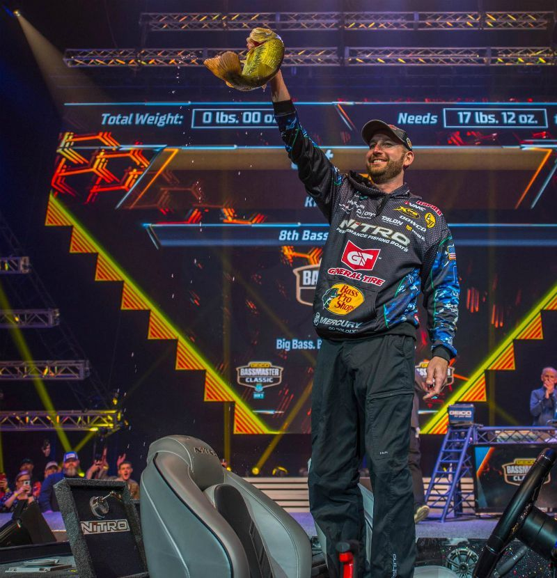 Unnamed Mystery Lure Wins the 2019 Bassmaster…   Grand View