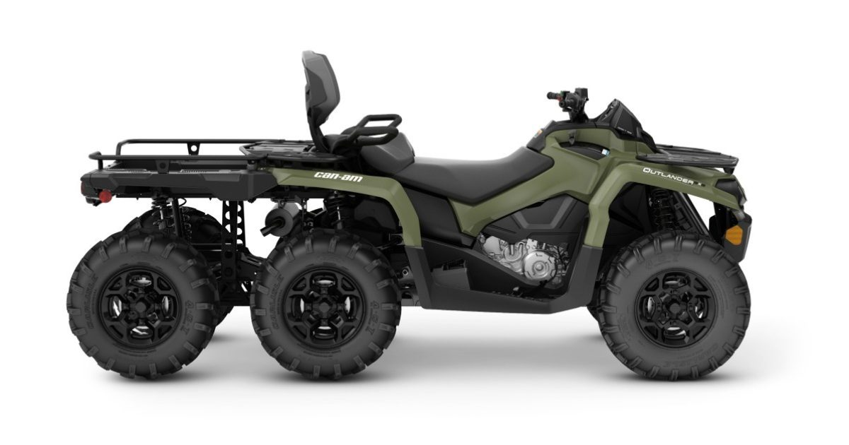 Can Am Outlander 450 >> Upgraded for 2019: Can-Am Outlander MAX 6x6 | Grand View Outdoors