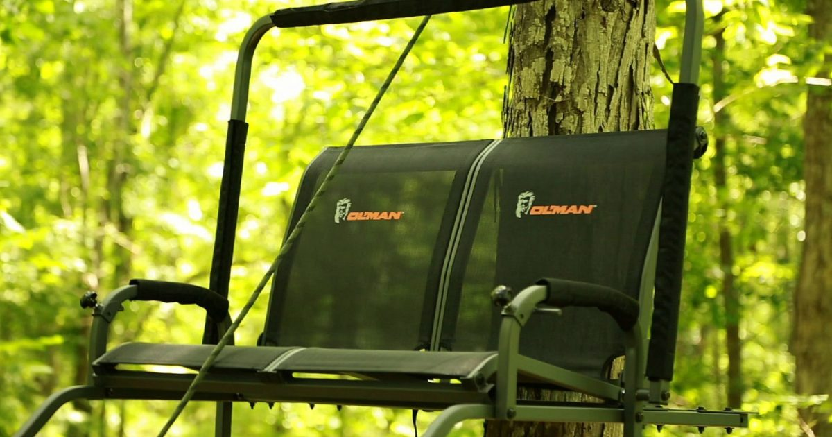 Ol Man Assassin 18 Dual Ladder Stand Grand View Outdoors