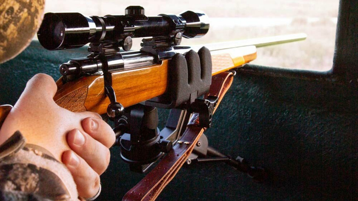 Kopfjäger small diameter rifle grip