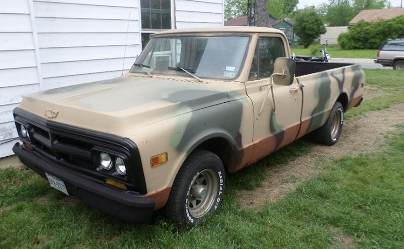 Old Hunting Truck