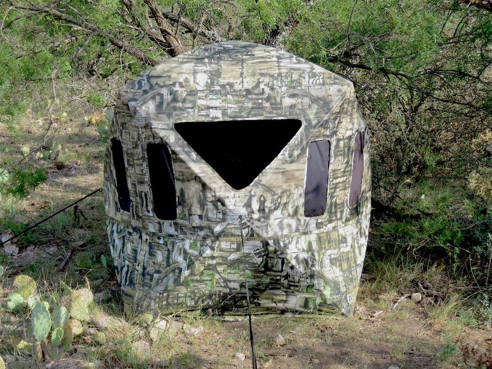 Hunting Blinds with Surround View