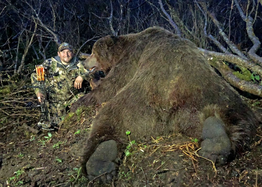 world record Alaska brown bear