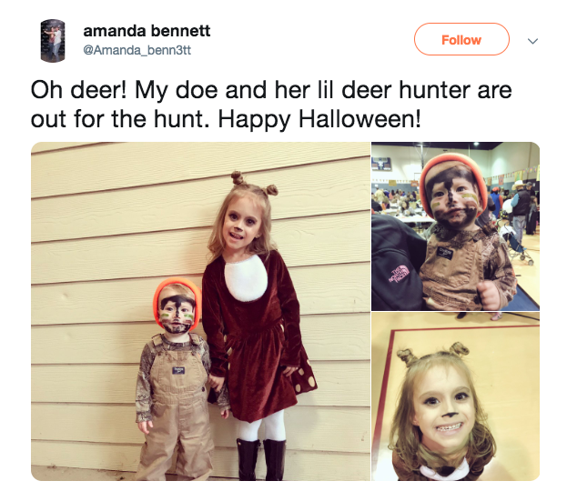 deer hunter halloween costumes