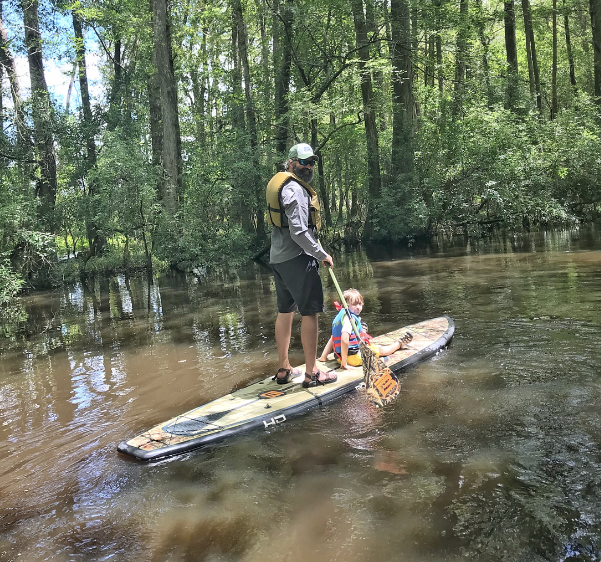 Gigging by Kayak or Paddle Board